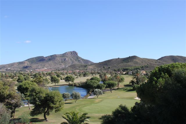 Golf Course with view of Lion Head, La Manga